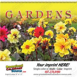 Gardens Promotional Wall Calendar  Spiral