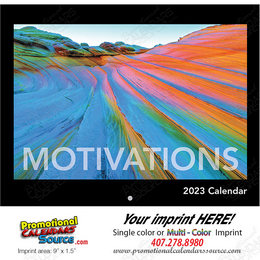 Motivations Promotional Calendar  - Stapled