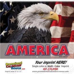 America! Promotional Wall Calendar  Spiral