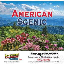 American Scenic Promotional Calendar  - Stapled