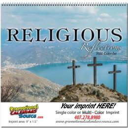 Religious Reflections Promotional Calendar  Spiral