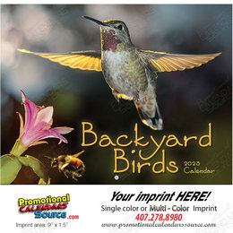 Backyard Birds Promotional Calendar  Stapled