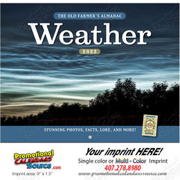 Weather Watcher's Calendar Stapled - Old Farmer's