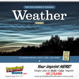 The Old Farmer Weather Watcher's Calendar Spiral Binding