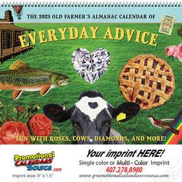The Old Farmer's Almanac Home Hints Calendar, Spiral