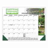 22x17 Desk Pad Calendar 4-Color Header & Side Ad Copy