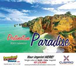 Beaches & Ocean Paradise Calendar 2022 - Stapled