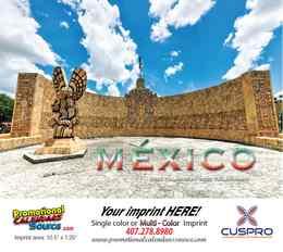 Mexico Scenic Bilingual Calendar 2022 - Stapled