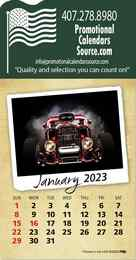 Classic Cars Stick-Up Calendar Full-Color Pad