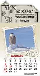 Wildlife Stick-Up Calendar