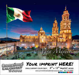 Scenes of Mexico Bilingual  Calendar - Vistas de Mexico 2019