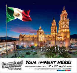 Scenic Mexico Bilingual  Calendar - Vistas de Mexico