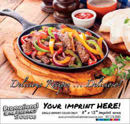 Delicious Culinary Recipes Bilingual  Calendar Spanish/English