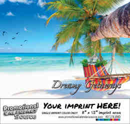 Dreamy Getaways Scenic Calendar Bilingual English/Spanish