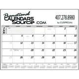 Biz Builder 12-Month Desk Pad Calendar
