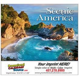 Scenic America Promotional Calendar  - Stapled