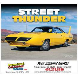 Street Thunder Promotional Wall Calendar  - Stapled