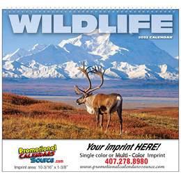 Wildlife Wall Calendar  Spiral