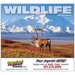 Wildlife Promotional Calendar  - Stapled