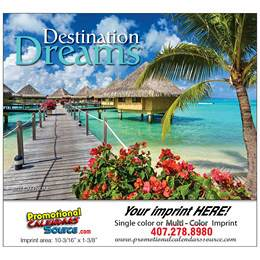 Destination Dreams Promotional Calendar  - Stapled