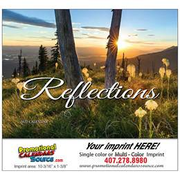 Reflections Promotional Calendar  - Stapled