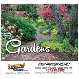 Gardens Wall Promo Calendar, Spiral