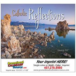 Catholic Reflections Promotional Calendar  - Stapled