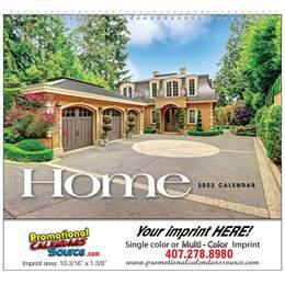 Dreams Homes Promotional Calendar w Spiral Binding, Real Estate Calendar