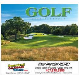 Golf Promotional Calendar  - Stapled