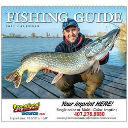 Fisherman s Guide Wall Calendar  - Spiral