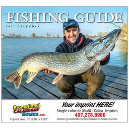 Fisherman's Guide Promotional Calendar  - Stapled