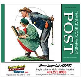 Saturday Evening Post Promotional Calendar  Stapled