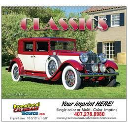 Automotive Classics Wall Calendar  - Spiral