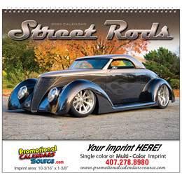 Street Rod Fever Wall Calendar  - Spiral