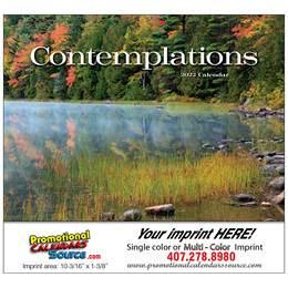 Contemplations Promotional Calendar  Stapled
