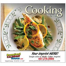 A Taste of Cooking Promotional Calendar  Stapled