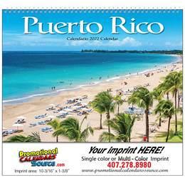 Puerto Rico Wall Calendar  - Spiral