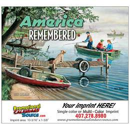 America Remembered Promotional Calendar  Stapled