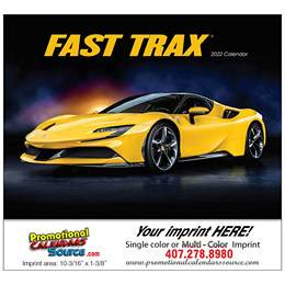 Fast Trax Promotional Cars Calendar  Stapled