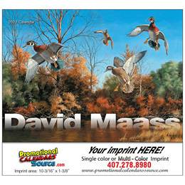 David Maass Promotional Calendar  Stapled