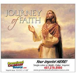 Journey of Faith Universal Promotional Calendar  Stapled