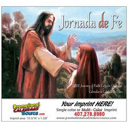 Jornada de Fe Catholic Promotional Calendar  Stapled