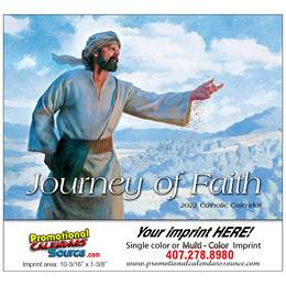 Journey of Faith Catholic Promotional Calendar  Stapled