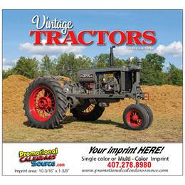 Legendary Tractors Promotional Wall Calendar  Stapled