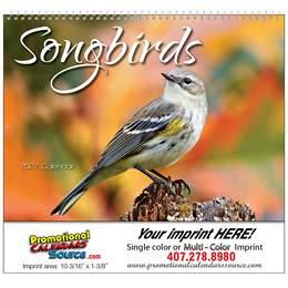 Nature's Songbirds Promotional Calendar  Spiral