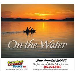 On The Water Sail Boats Calendar Stapled
