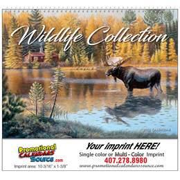 Wildlife Collection Art Calendar Spiral