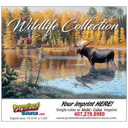 Wildlife Collection Art Calendar Stapled