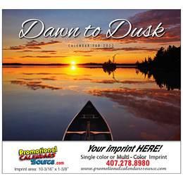 Dawn to Dusk Calendar  - Stapled