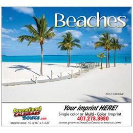 Fabulous Beaches Wall Calendar 2019, Stapled, Exotic Beaches, Personalized